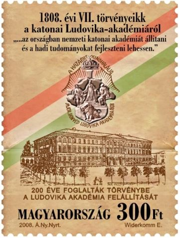 Bicentenary of the foundation of the Ludovika Academy being enshired in law
