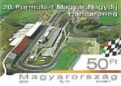 My Hungaroring Stamp 2005