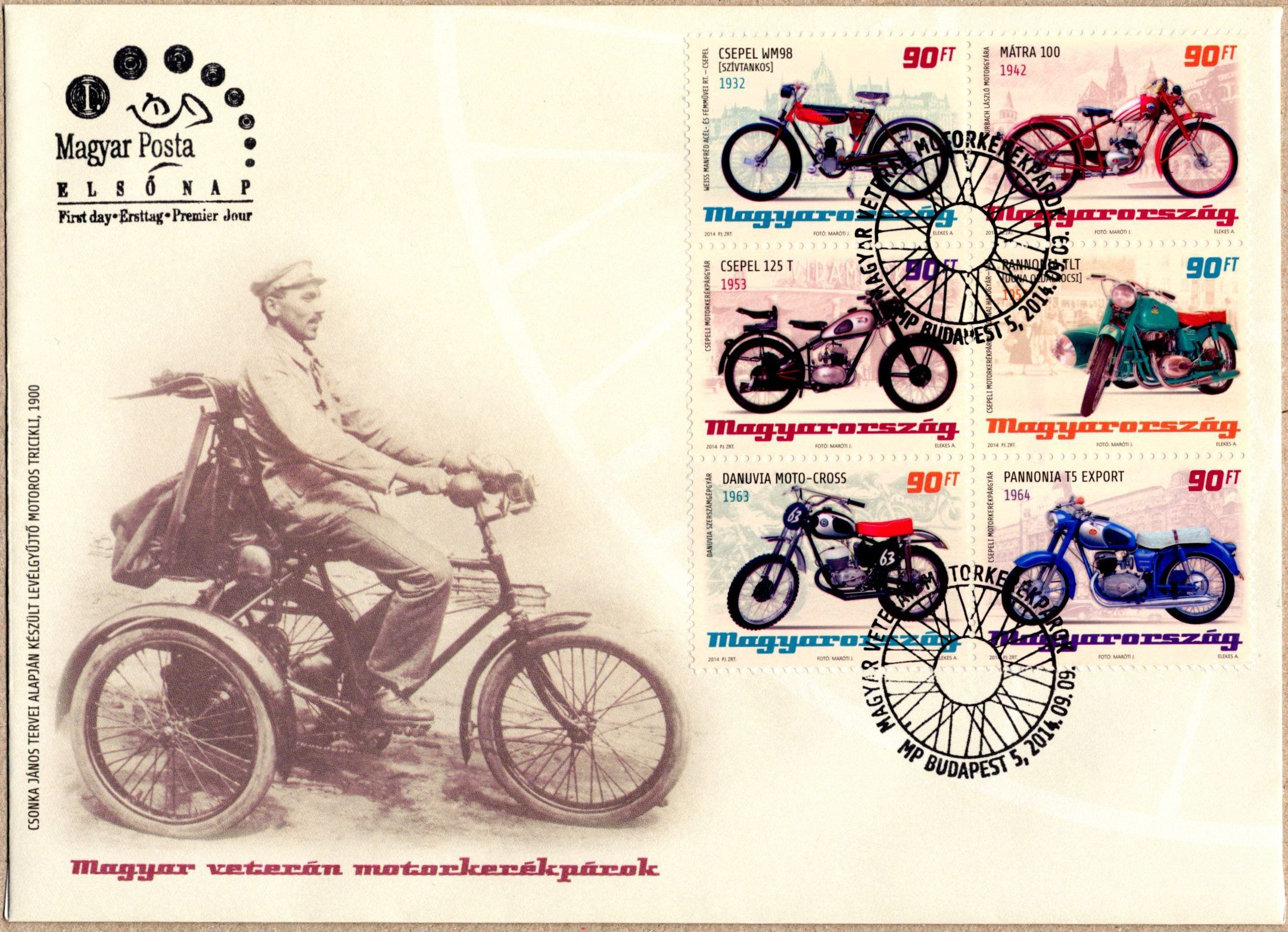Hungarian old-timer motorcycles I.