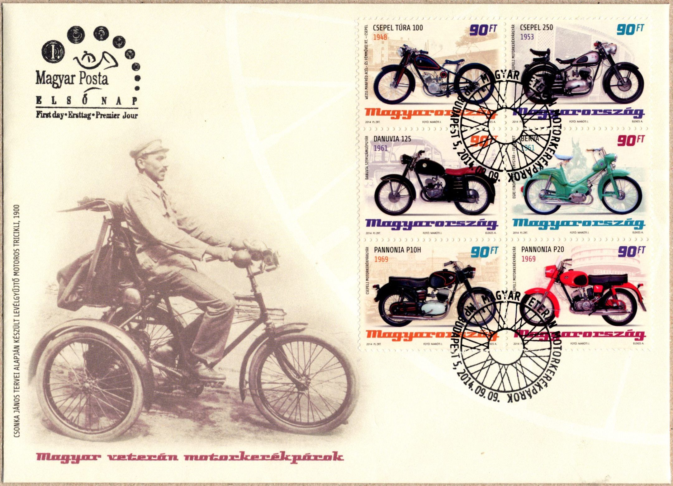 Hungarian old-timer motorcycles II.
